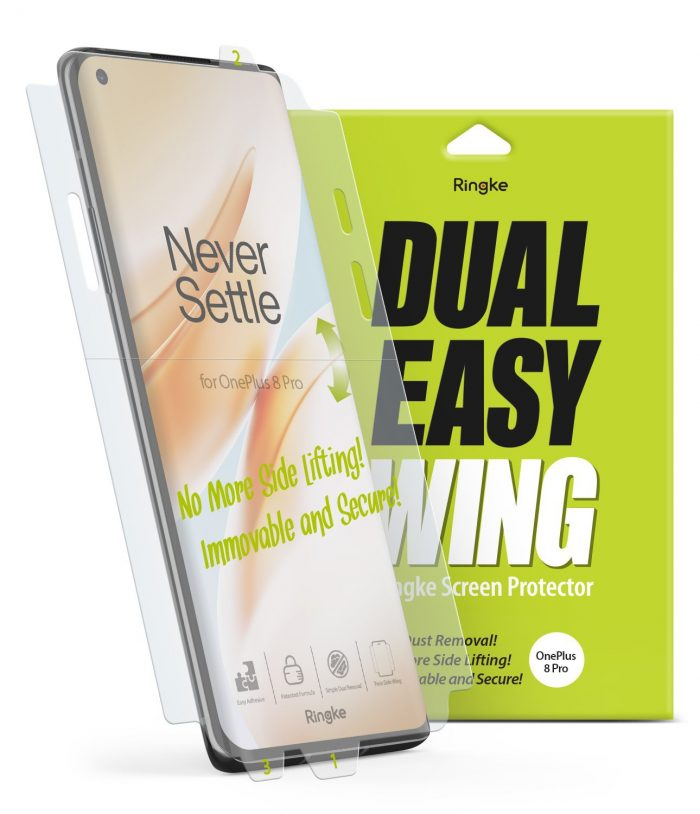 Ringke Dual Easy Wing Full Cover OnePlus 8 Pro [2 PACK] - export 124