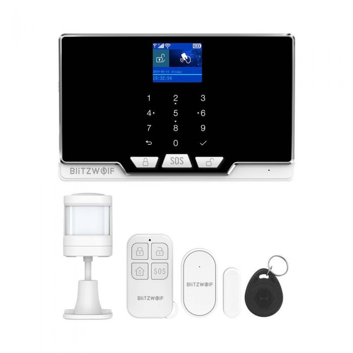 blitzwolf bw-is6 wi-fi+2g security alarm system kit - export 15