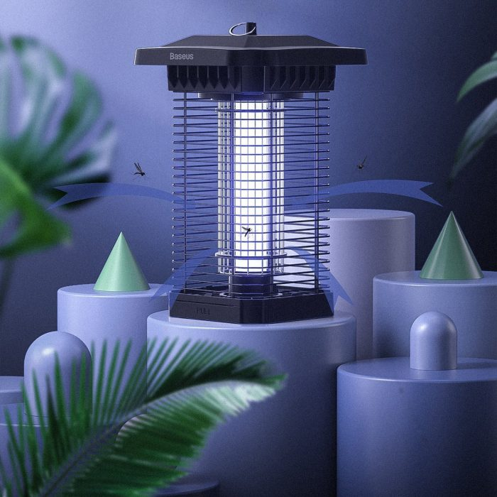 baseus pavilion electric uv insect lamp - export 165