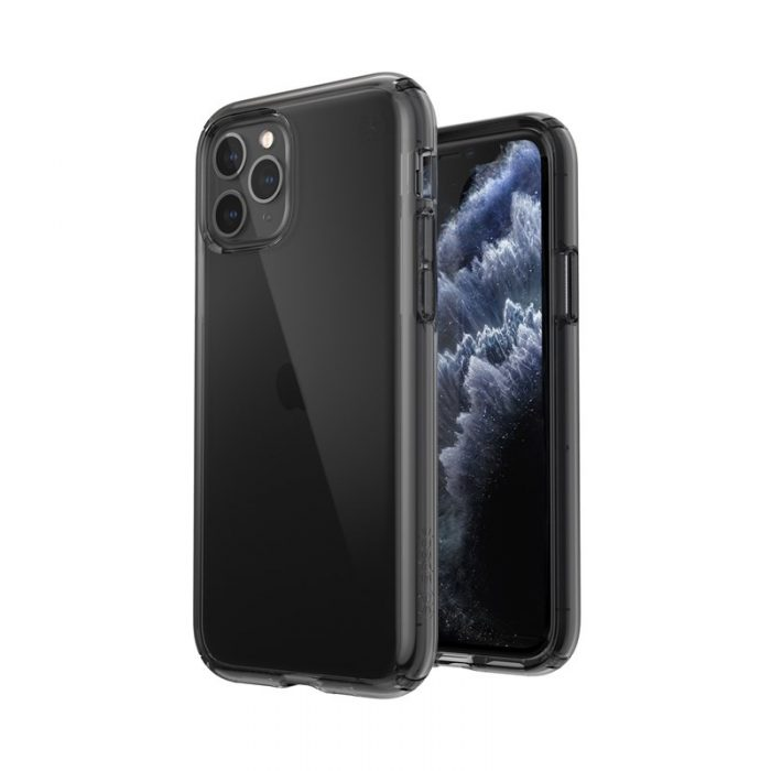 speck presidio perfect-clear - kryt iphone 11 pro s microban (obsidian) - export 1789