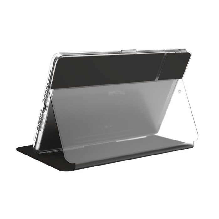 Speck Balance Folio Clear - Etui iPad 10.2 w/Magnet & Stand up (Black/Clear) - export 2209