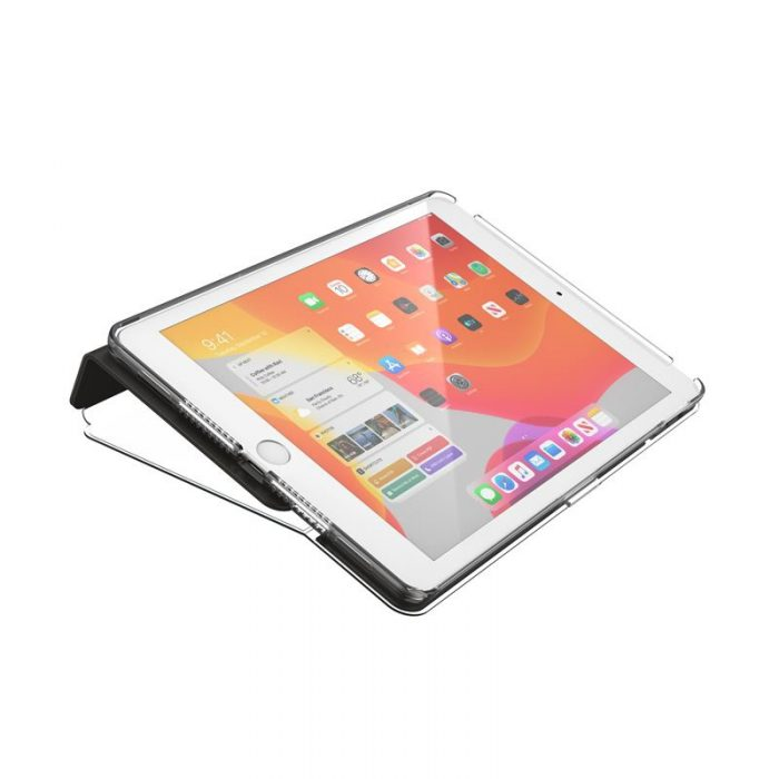 Speck Balance Folio Clear - Etui iPad 10.2 w/Magnet & Stand up (Black/Clear) - export 2210