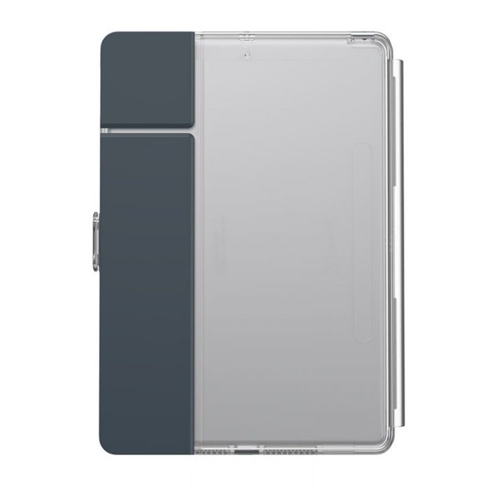 speck balance folio clear - kryt ipad 10.2 w/magnet & stand up (gunmetal grey/clear) - export 2232