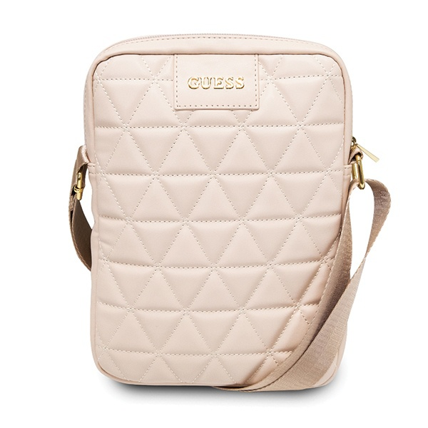 "Guess GUTB10QLPK 10"" pink Quilted Tablet Bag - export 502"