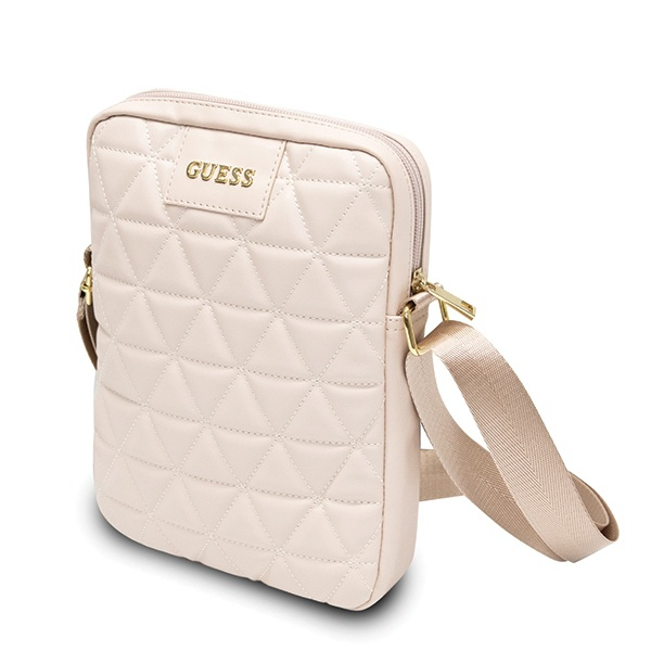 "Guess GUTB10QLPK 10"" pink Quilted Tablet Bag - export 503"