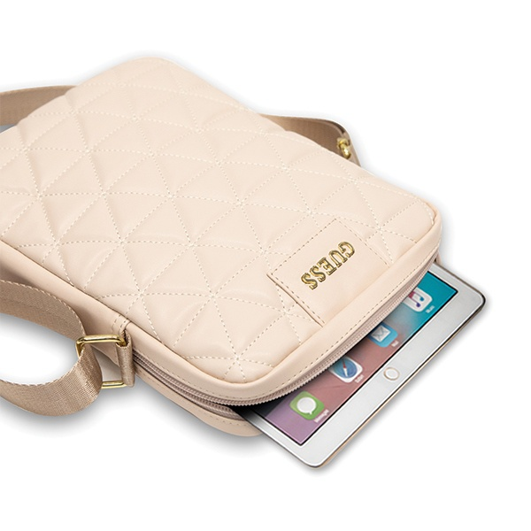 "Guess GUTB10QLPK 10"" pink Quilted Tablet Bag - export 505"