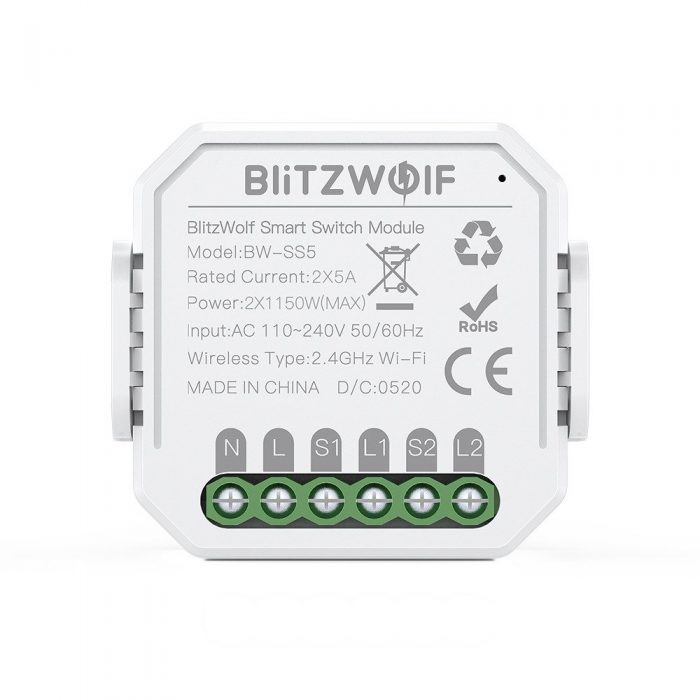 blitzwolf bw-ss5 smart switch wifi 2-gang - export 797