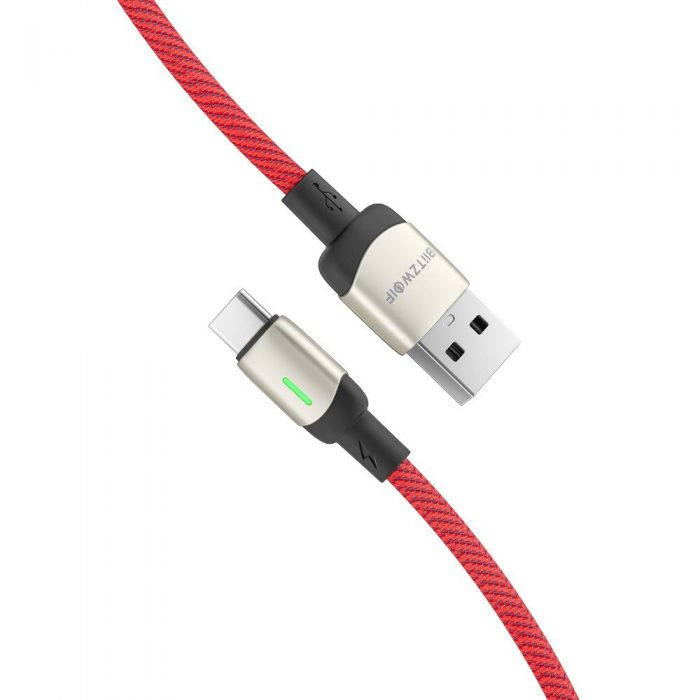 BlitzWolf BW-TC21 USB-C Cable 3A 1m (red) - export 840