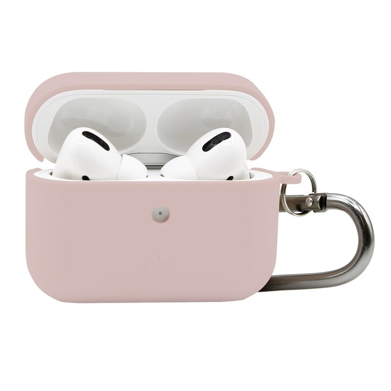 PURO Green Compostable Eco-friendly Cover Apple Airpods Pro (sand pink)