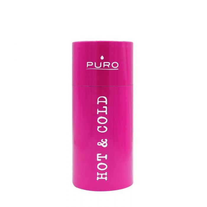 puro hot&cold thermal stainless steel water bottle 350ml (fucsia) - export 2179