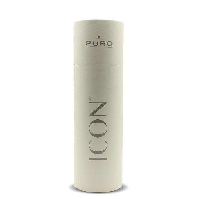 puro icon thermal stainless steel water bottle 500ml (beige) (powder coating) - export 2210