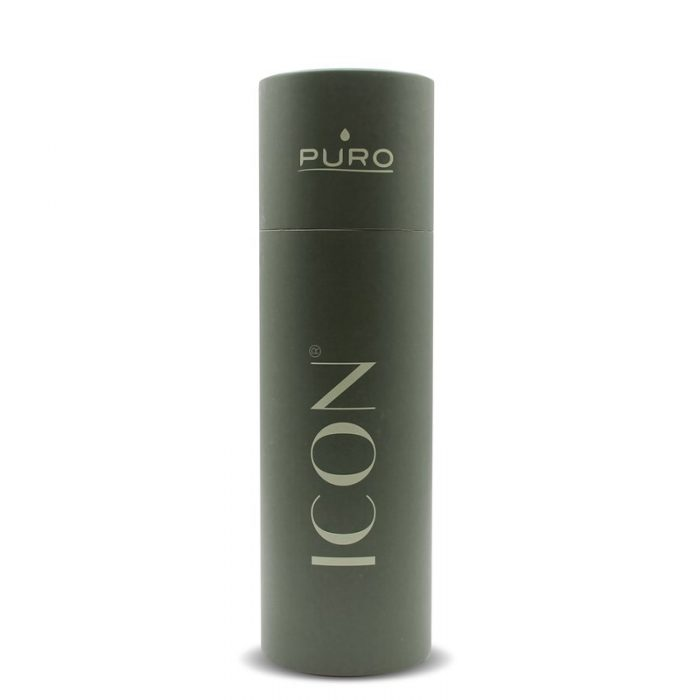 puro icon thermal stainless steel water bottle 500ml (green) (powder coating) - export 2224