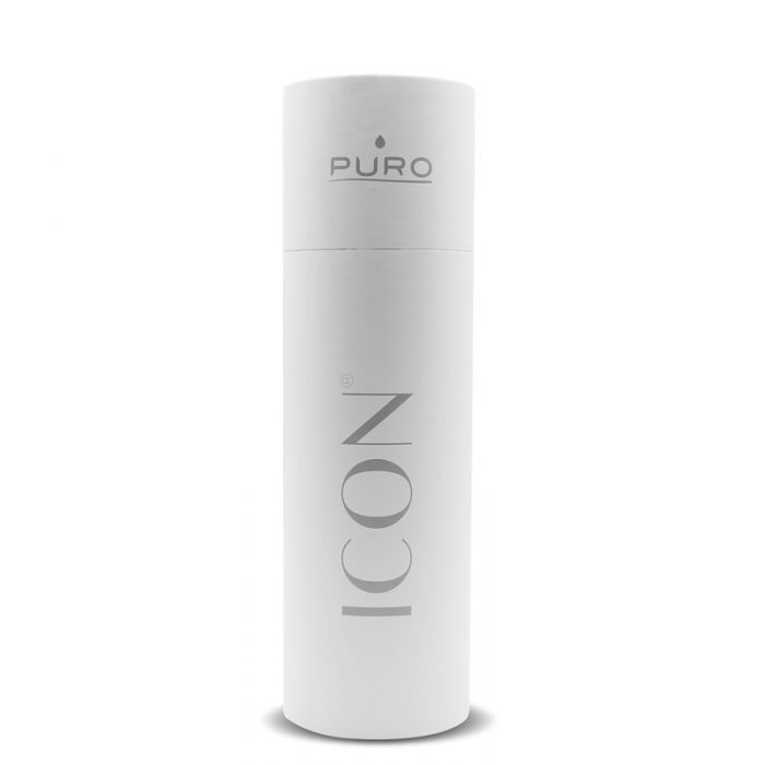 puro icon thermal stainless steel water bottle 500ml (white) (powder coating) - export 2238