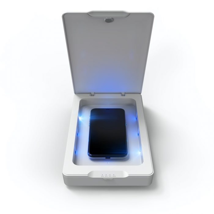 zagg invisibleshield uv sanitizer - export 2264