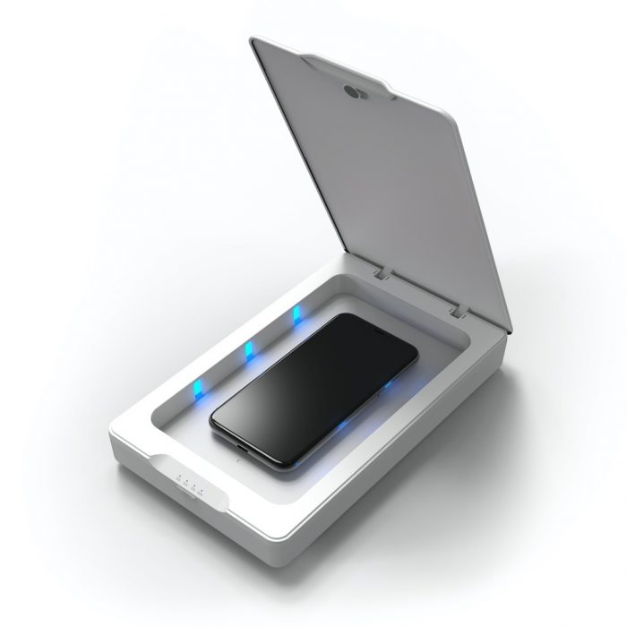 zagg invisibleshield uv sanitizer - export 2265