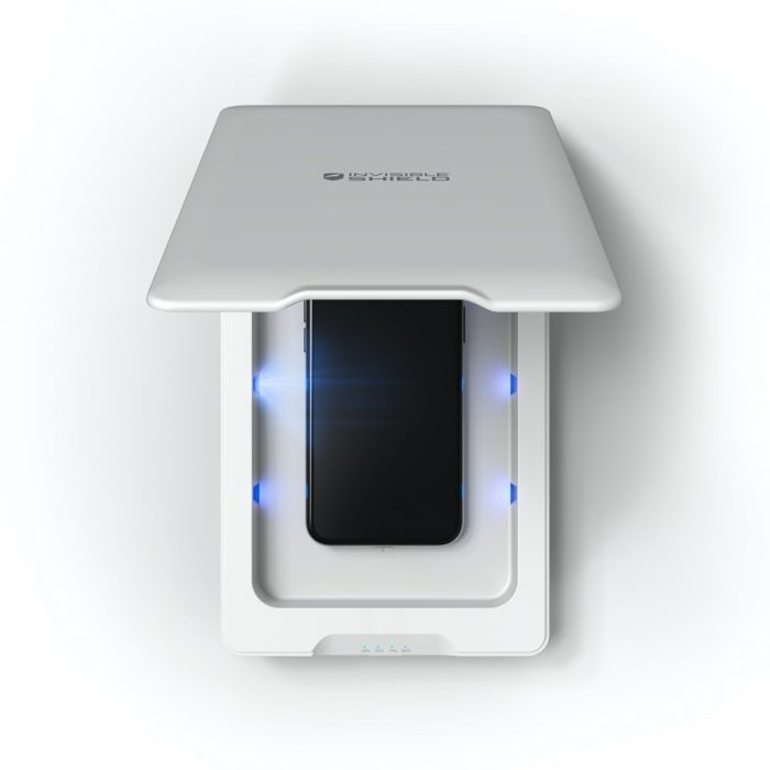 zagg invisibleshield uv sanitizer - export 2267
