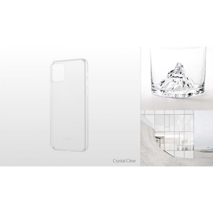 moshi superskin - apple iphone 11 pro (crystal clear) - export 2905