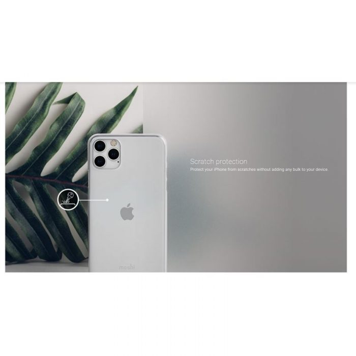 moshi superskin - apple iphone 11 pro (crystal clear) - export 2907