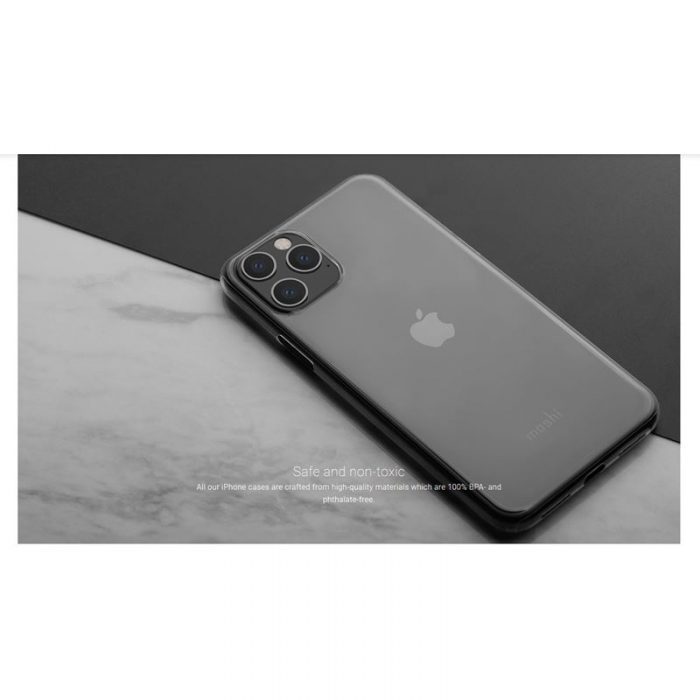 moshi superskin - apple iphone 11 pro (crystal clear) - export 2912