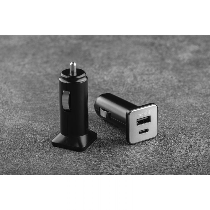 quikduo car charger with usb-c pd and quick charge (36 w) - export 3440