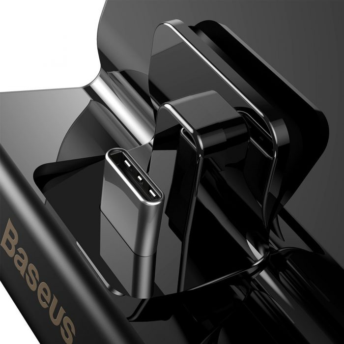 baseus gs10 adjustable charging stand pro switch console (černá) - export 375