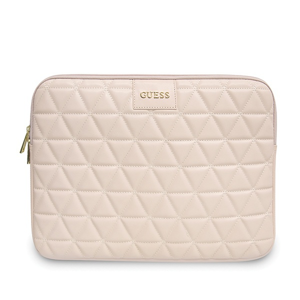 "Guess Sleeve GUCS13QLPK 13"" pink Quilted - export 4100"
