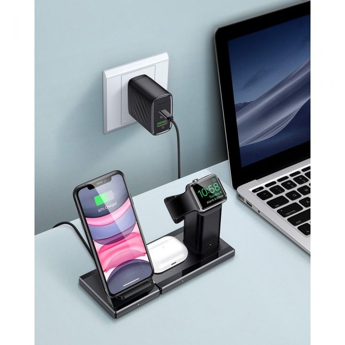ESR 3in1 Wireless Charging Station Black - export 4604