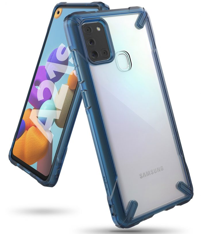 ringke fusion-x samsung galaxy a21s space blue - export 577