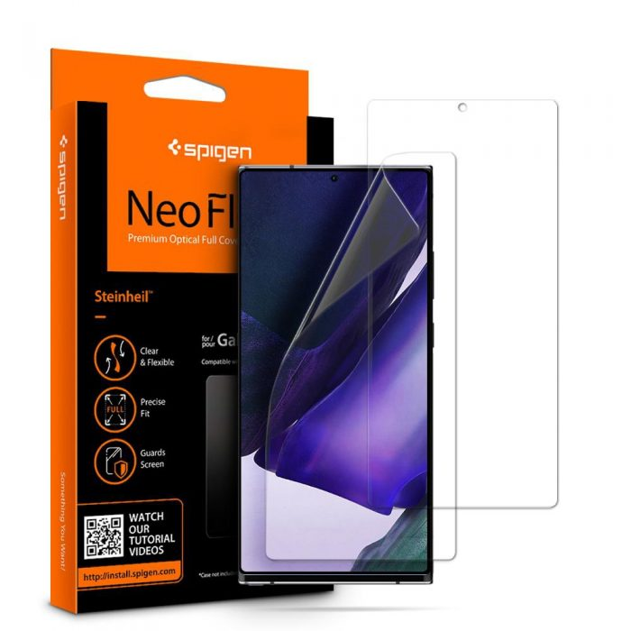 spigen neo flex hd samsung galaxy note 20 ultra [2 pack] - export 847