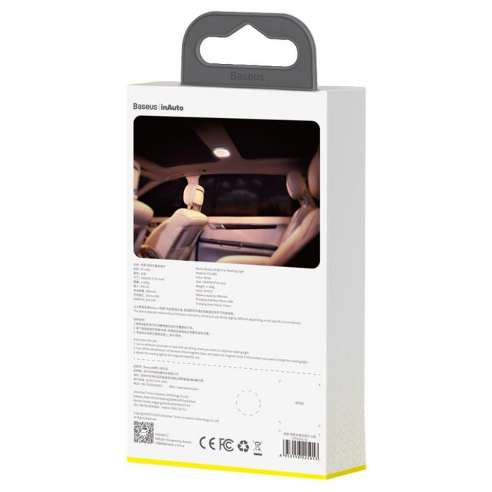 baseus bright car light for reading (white) - krytarna.cz baseus bright car light for reading white others 7