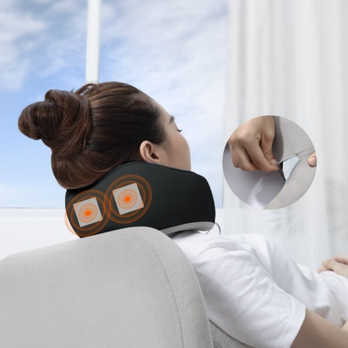baseus thermal series memory foam neck pillow (dark grey) - krytarna.cz baseus thermal series memory foam neck pillow dark grey others 7