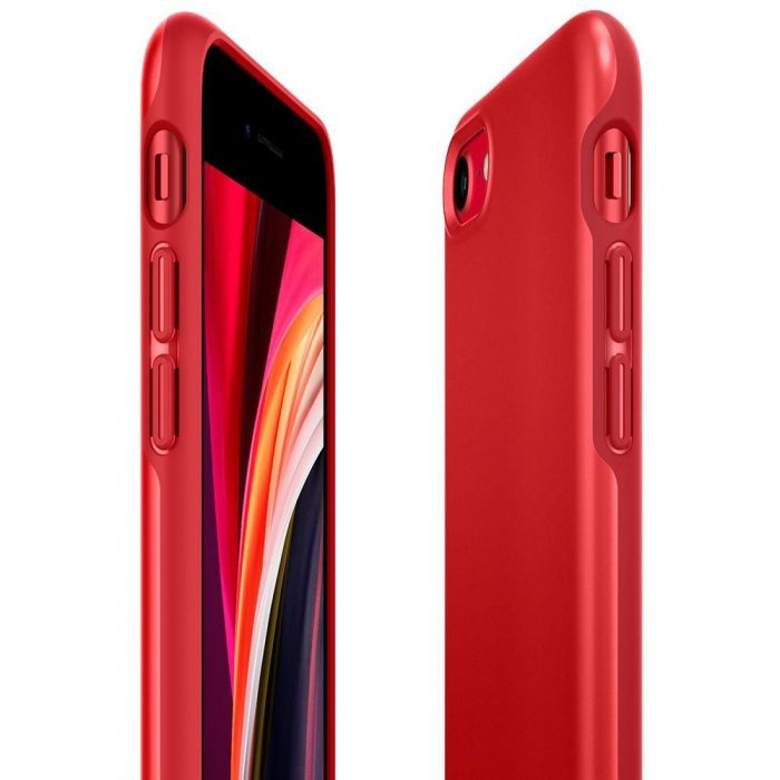 spigen thin fit pro apple iphone se 2020/8/7 red - export 2555