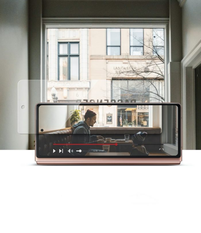 ringke invisible defender samsung galaxy z fold 2 [2 pack] - export 1574