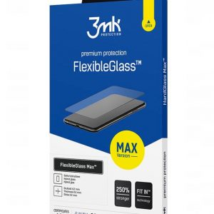 iPhone SE 2020 - 3MK FlexibleGlass Max Apple iPhone SE 2020 black - 1 - krytarna.cz
