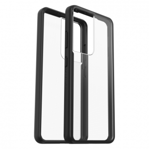 S21 Ultra - OtterBox React Samsung Galaxy S21 Ultra 5G (clear black) - 1 - krytarna.cz