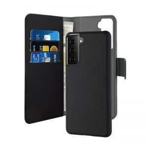 S21 Plus - PURO Wallet Detachable 2in1 Samsung Galaxy S21+ Plus (black) - 1 - krytarna.cz