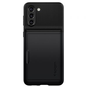 S21 Plus - Spigen Slim Armor Cs Galaxy S21+ Plus Black - 2 - krytarna.cz