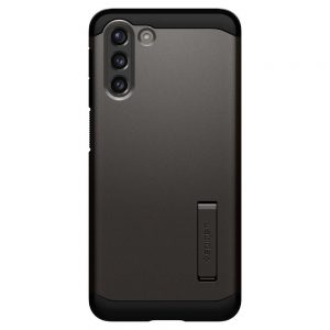 S21 Plus - Spigen Tough Armor Galaxy S21+ Plus Gunmetal - 2 - krytarna.cz