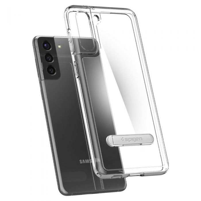 "s21 plus - spigen ultra hybrid ""s"" galaxy s21+ plus crystal clear - 4 - krytarna.cz"