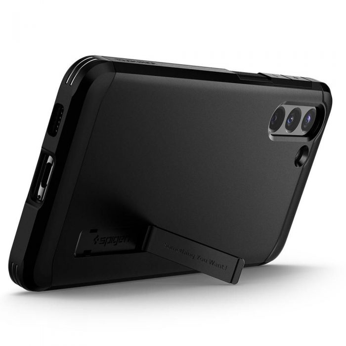 s21 plus - spigen tough armor galaxy s21+ plus black - 8 - krytarna.cz