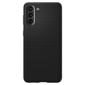 S21 Plus - Spigen Liquid Air Galaxy S21+ Plus Matte Black - 2 - krytarna.cz