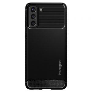 S21 Plus - Spigen Rugged Armor Galaxy S21+ Plus Matte Black - 2 - krytarna.cz