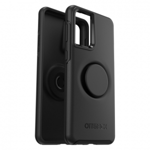 S21 Plus - OtterBox Symmetry POP - obudowa ochronna z PopSockets do Samsung Galaxy S21+ 5G (black) - 1 - krytarna.cz