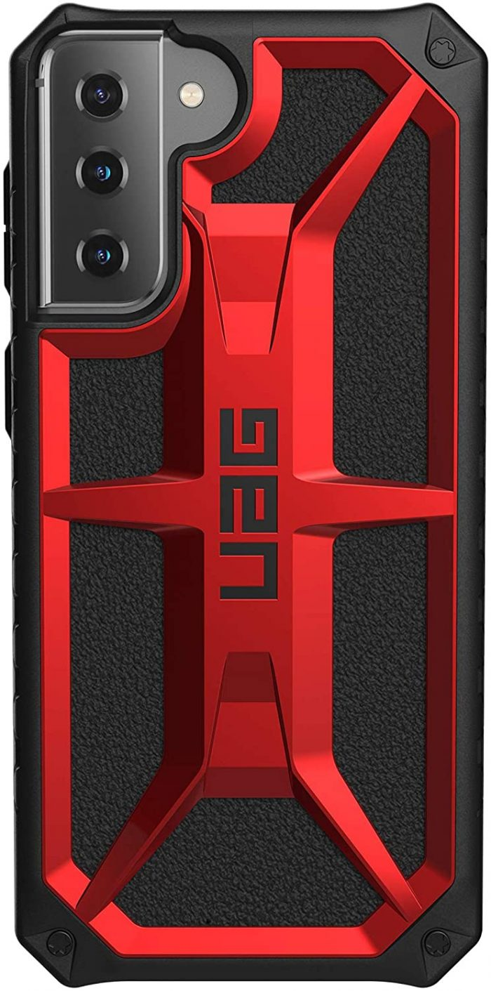 s21 plus - etui uag monarch samsung galaxy s21+ 5g (crimson) - 3 - krytarna.cz