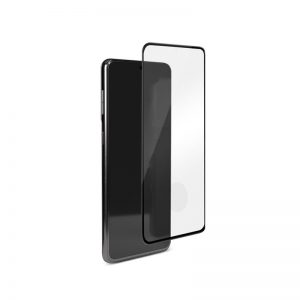 S21 - PURO Frame Tempered Glass Samsung Galaxy S21 (black) - 1 - krytarna.cz