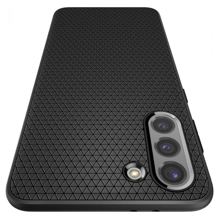 s21 - spigen liquid air galaxy s21 matte black - 7 - krytarna.cz