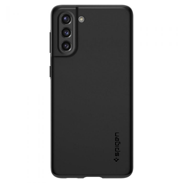 s21 - spigen thin fit galaxy s21 black - 2 - krytarna.cz