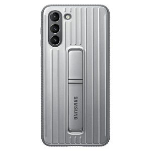S21 Plus - Samsung Galaxy S21+ Plus EF-RG996CJ light gray Protective Standing Cover - 1 - krytarna.cz