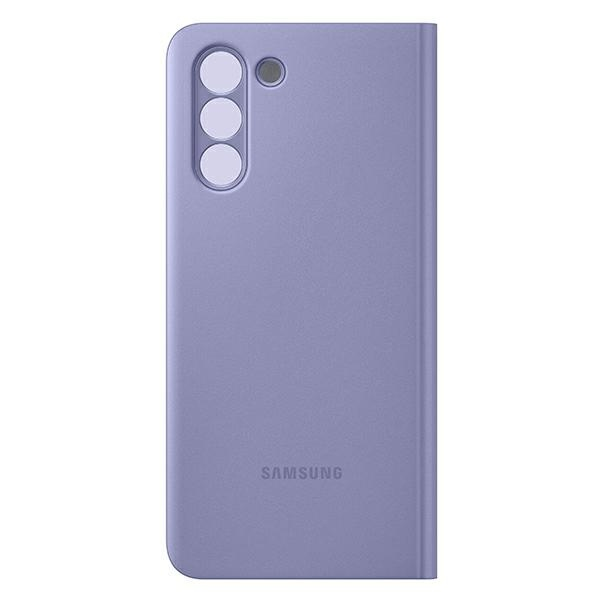 s21 plus - samsung galaxy s21+ plus ef-zg996cv violet clear view cover - 2 - krytarna.cz