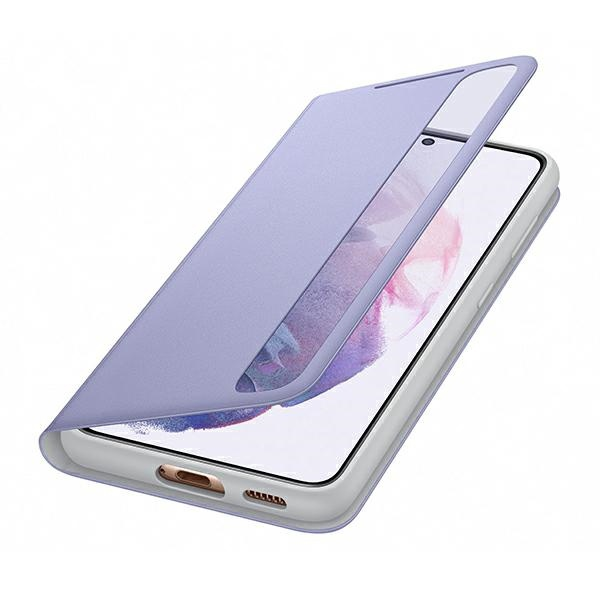 s21 plus - samsung galaxy s21+ plus ef-zg996cv violet clear view cover - 5 - krytarna.cz